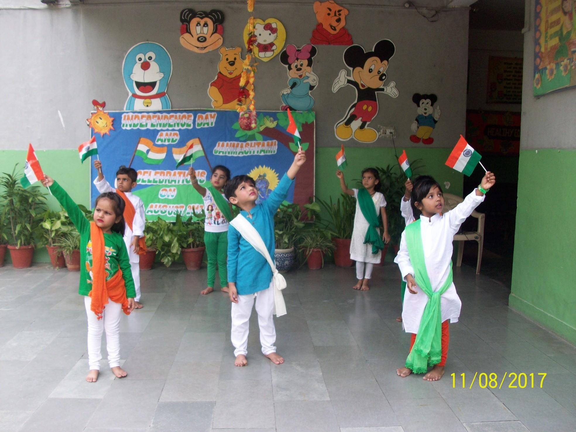Independence Day & Janmashtami Celebrations